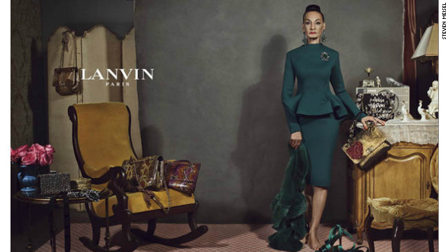 New high fashion ads forgo models
