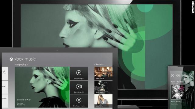 Here comes Microsoft's Xbox Music service